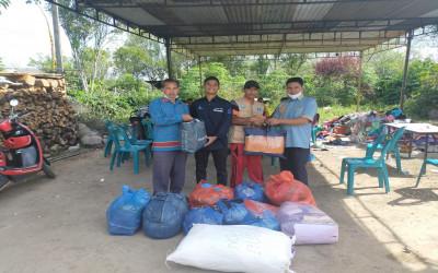 Peduli Korban Kebakaran di Kampung Kala Tenang, Warga : Terima Kasih MIN 1 Bener Meriah